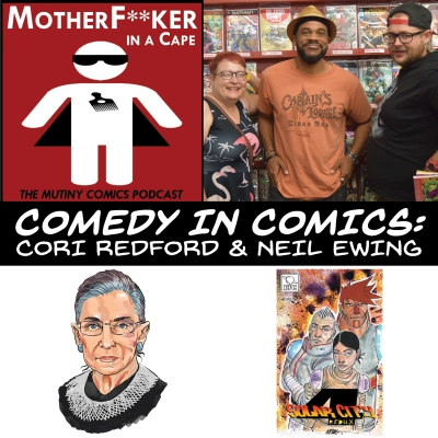 Comedy In Comics - Cori Redford & Neil Ewing