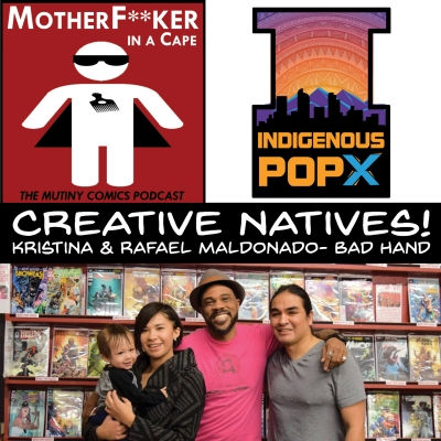 Creative Natives: Indigenous Comics Creators!